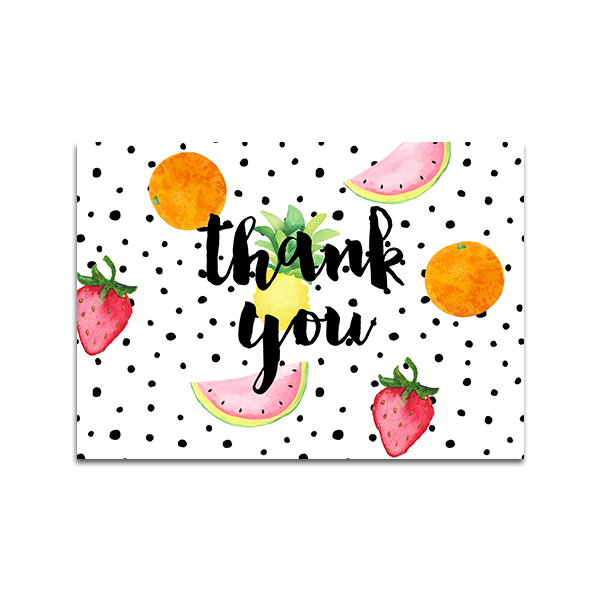 Twotti Fruity Thank You Cards by Pineapple Paper Co.