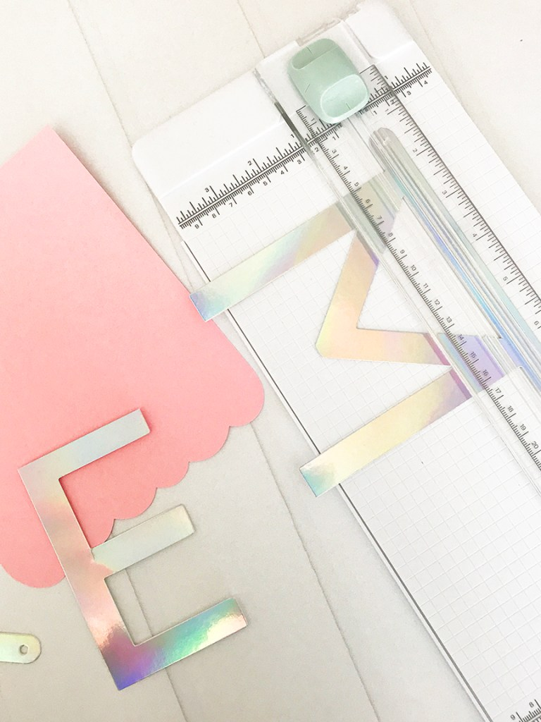 Craft a Unicorn Banner by Pineapple Paper Co.