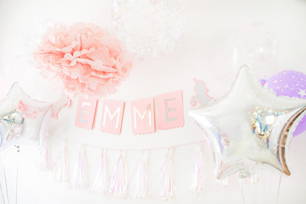 Unicorn Backdrop by Pineapple Paper Co. for Cricut and Martha Stewart Celebrations