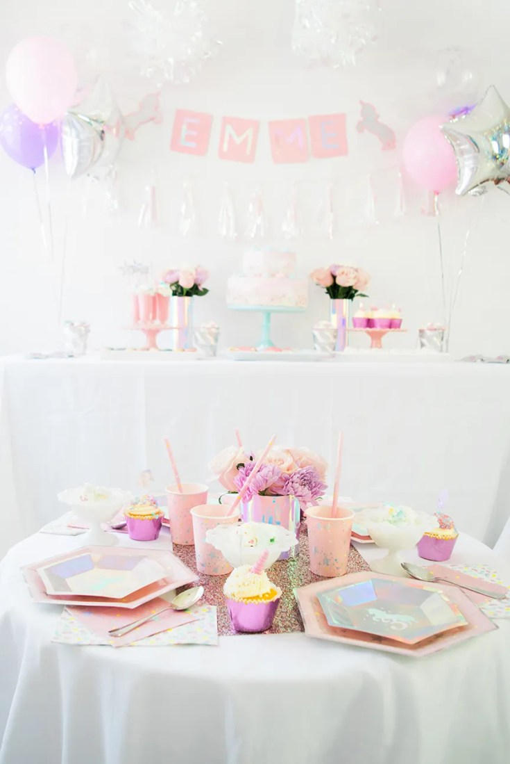 Magical Unicorn Birthday Party Ideas with Martha Stewart, Cricut, and Michaels