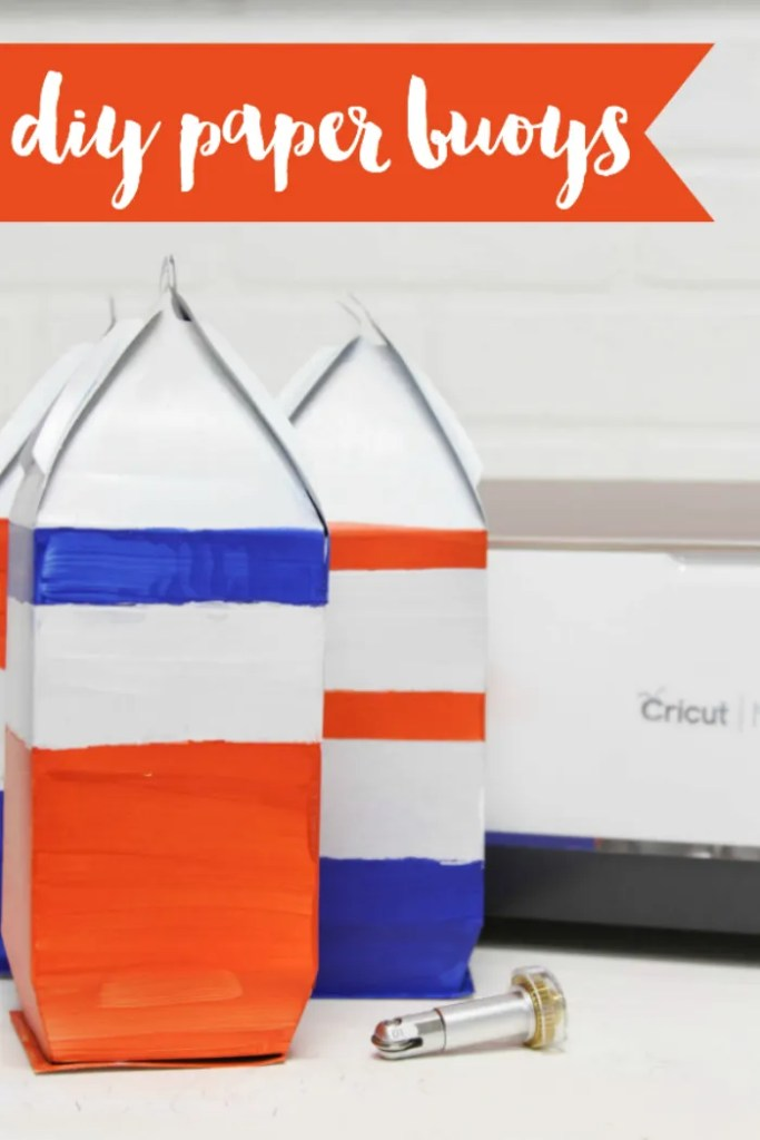 DIY Paper Buoys by Everyday Party magazine