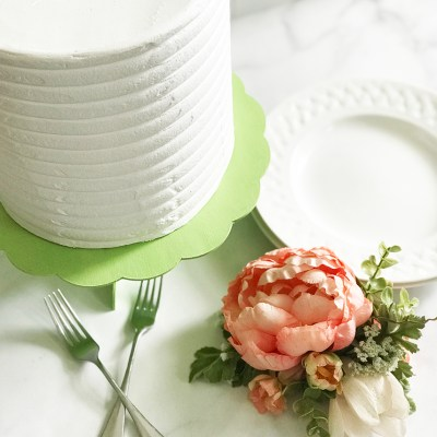 DIY Cake Stand using the Cricut Knife Blade