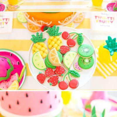 Tutti (Two-tti) Frutti Party Ideas