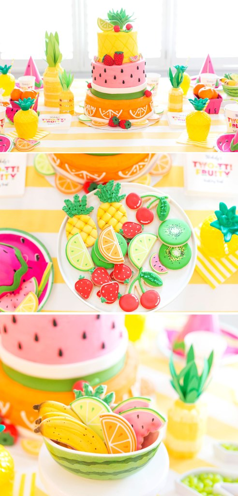 Two-tti Fruity Party Ideas by Pizzazzerie