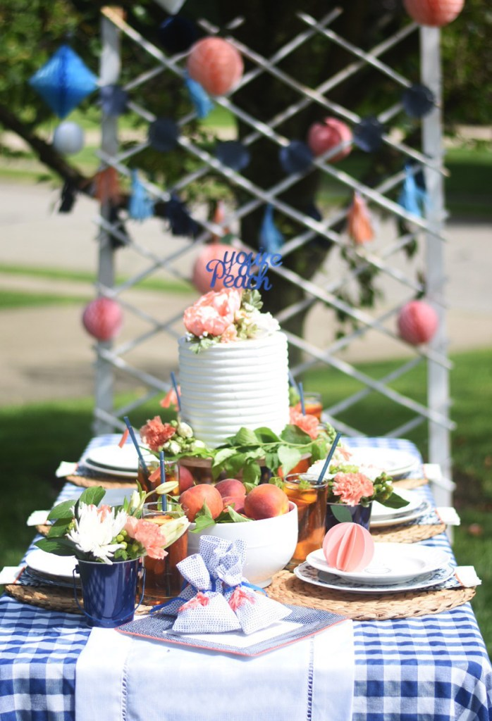 Peach Summer Party by Pineapple Paper Co. with Martha Stewart, Cricut, and Michaels