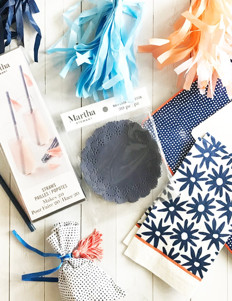 Indigo Party Supplies by Martha Stewart Celebrations exclusively at Michaels