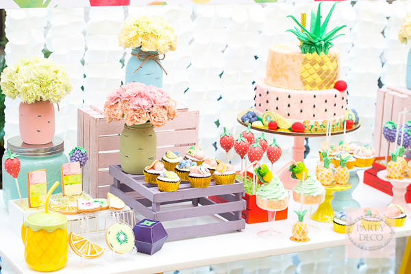 Tutti Fruity Party by Party Deco via Baby and Breakfast