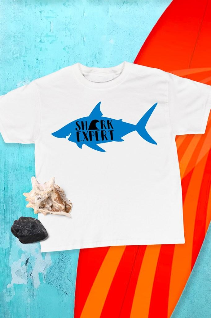 Diy Shark Week Shirt Designs On Cricut Design Space
