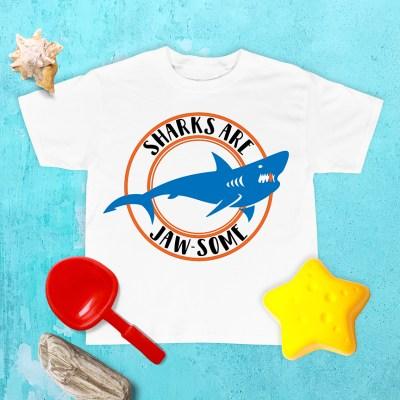 Shark Week Shirts in Cricut Design Space