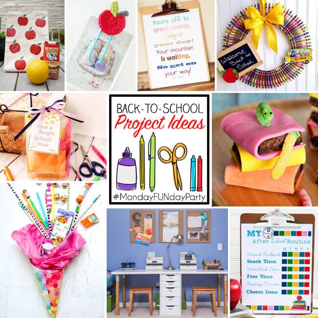 Back to School Project Ideas Grid