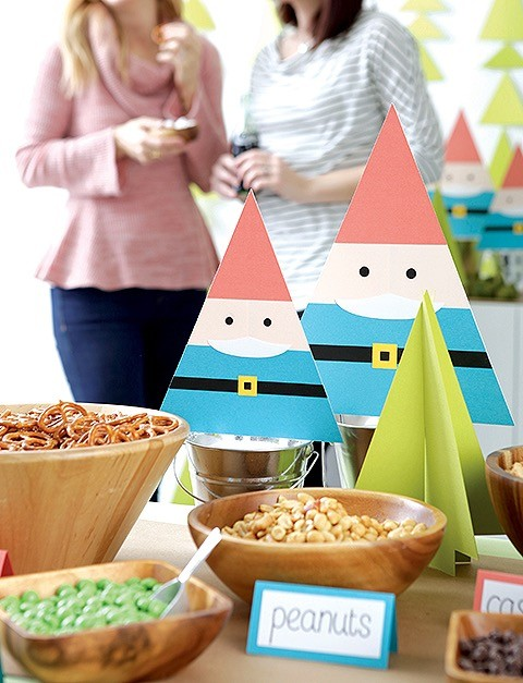 Paper Gnomes from Paper Party Book