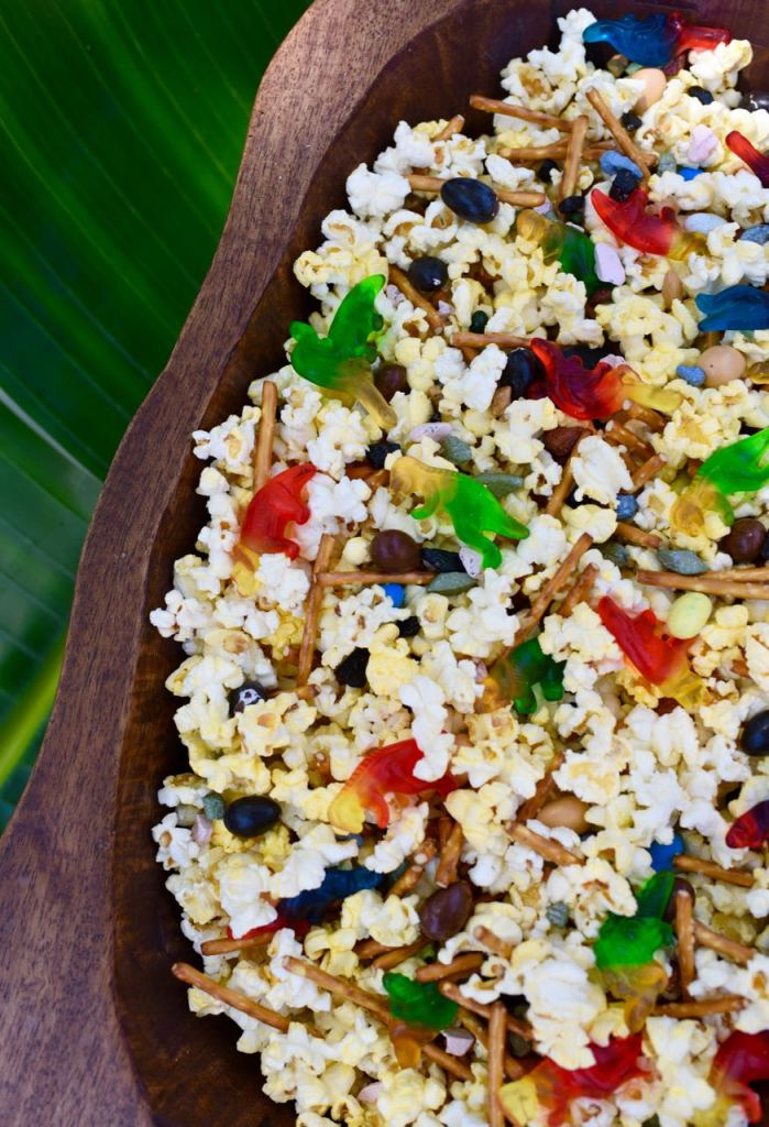 Dinosaur Popcorn Mix curated by Pineapple Paper Co.
