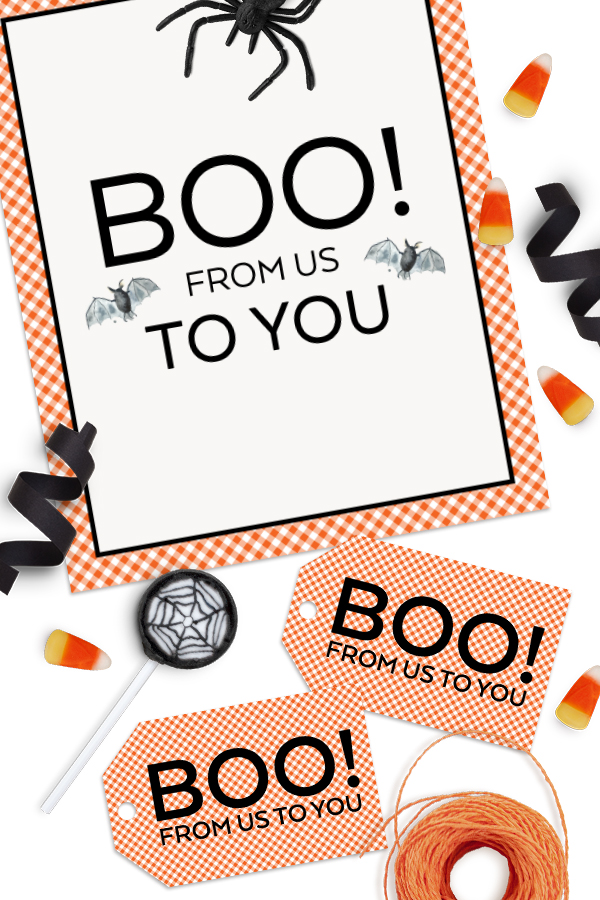 You've Been Booed Free Halloween Printables