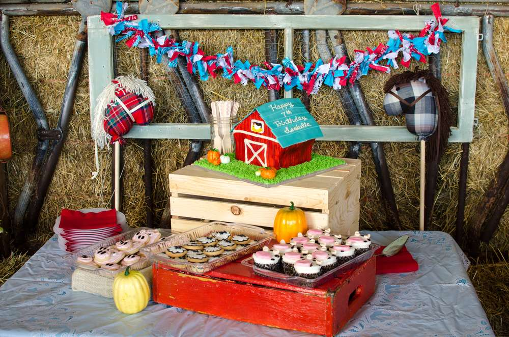 Farm Birthday Party and Fall Party Ideas curated by Pineapple Paper Co.