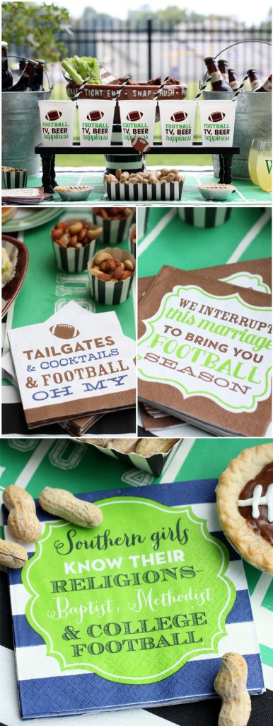 Tailgate Party Ideas curated by Pineapple Paper Co.