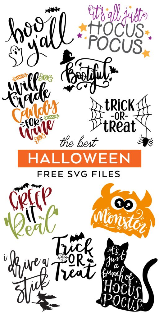 Download the Best FREE Halloween SVG Cut Files curated by Pineapple Paper Co.