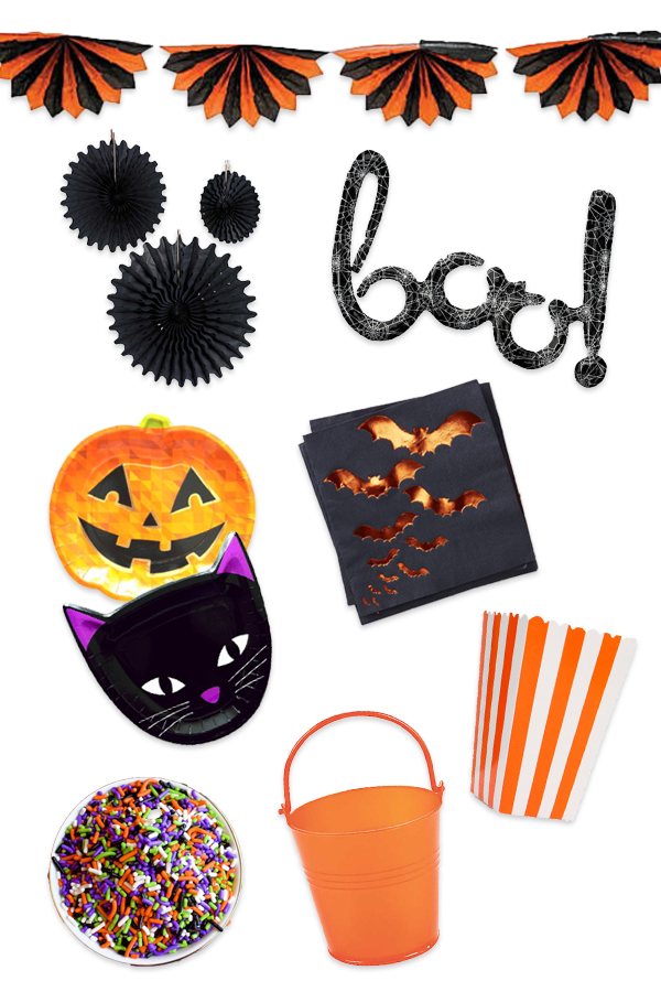 Best Halloween Party Supplies curated by Pineapple Paper Co.