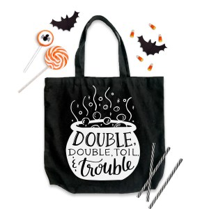 Double Double Toil and Trouble Halloween SVG by Pineapple Paper Co.