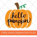 Hello Pumpkin SVG Files