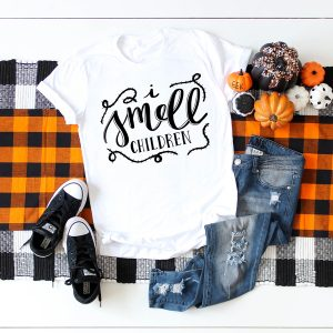 I Smell Children Halloween SVG designed by Pineapple Paper Co.