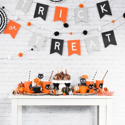 Trick or Treat Halloween Party Ideas with Cricut