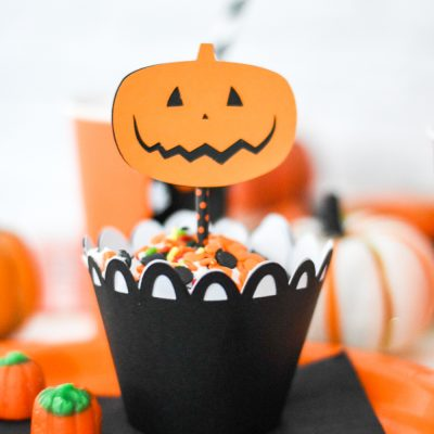 How to Make DIY Halloween Cupcake Toppers