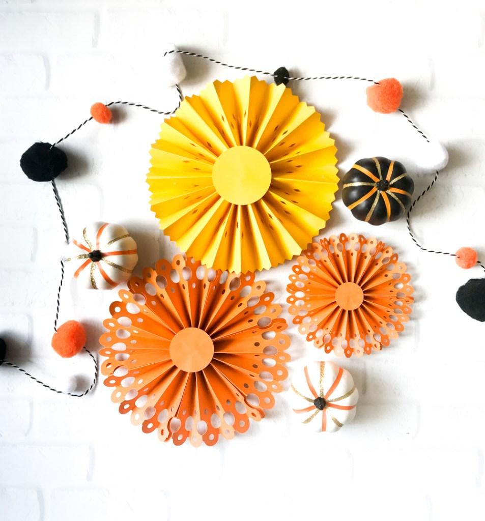 DIY Paper Rosettes with the Cricut Maker and Scoring Wheel