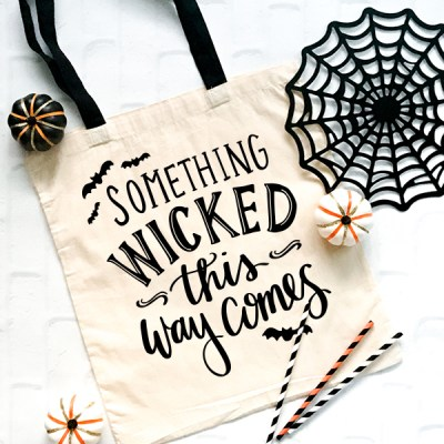 Something Wicked This Way Comes Cut File