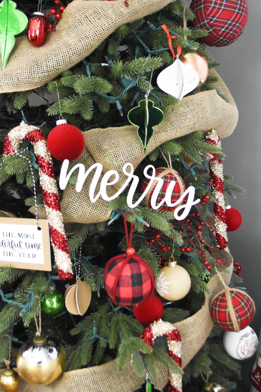 Diy Christmas Tree Ornaments Cricut Maker Pineapple Paper Co