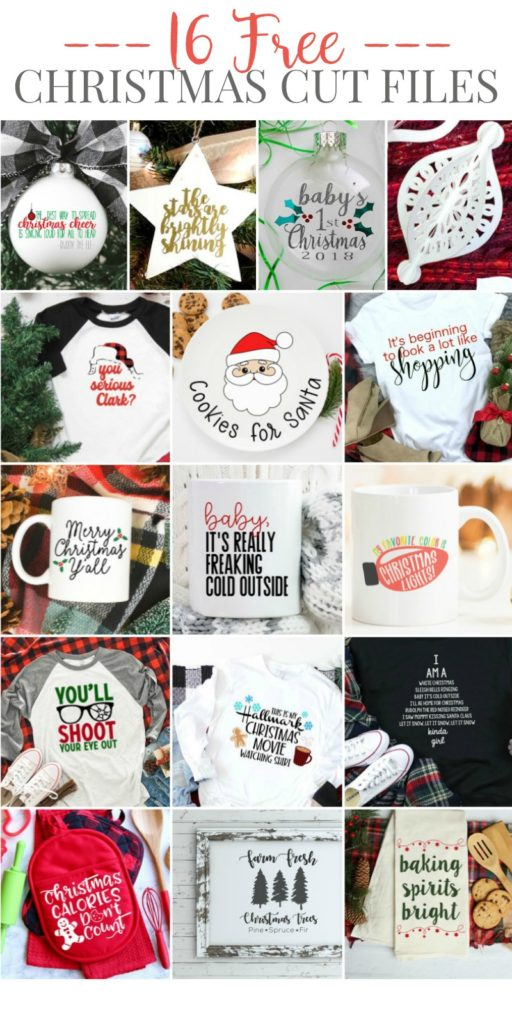 Download a FREE Merry Christmas Y'all SVG File by Pineapple Paper Co.