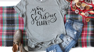 You Serious Clark FREE SVG Shirt by Pineapple Paper Co.