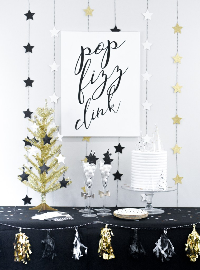 diy new year s party ideas with the cricut maker pineapple paper co party ideas with the cricut maker