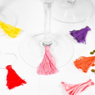 DIY Tassel Charms for National Margarita Day