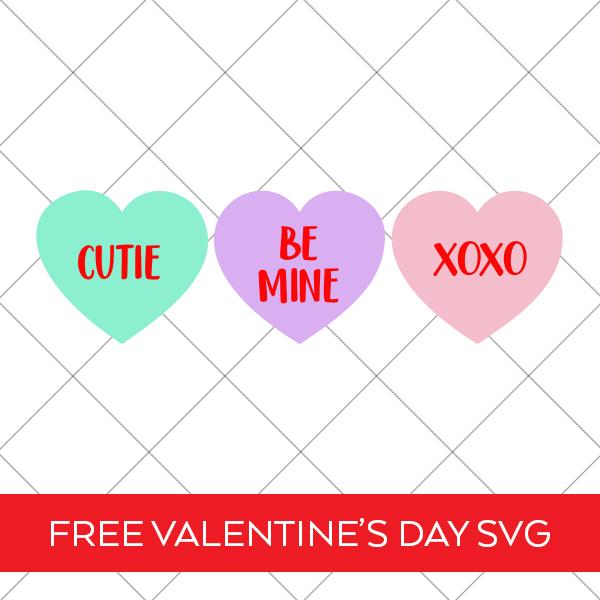 Conversation Hearts Valentine