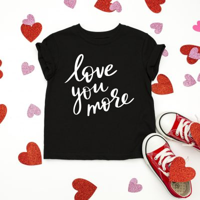 Free Valentine's Day SVG – Love You More