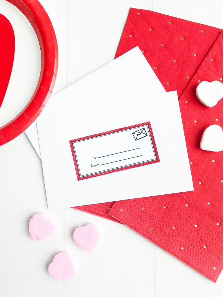 Printable Valentine Tags by Pineapple Paper Co.