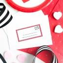 Valentine Card Labels