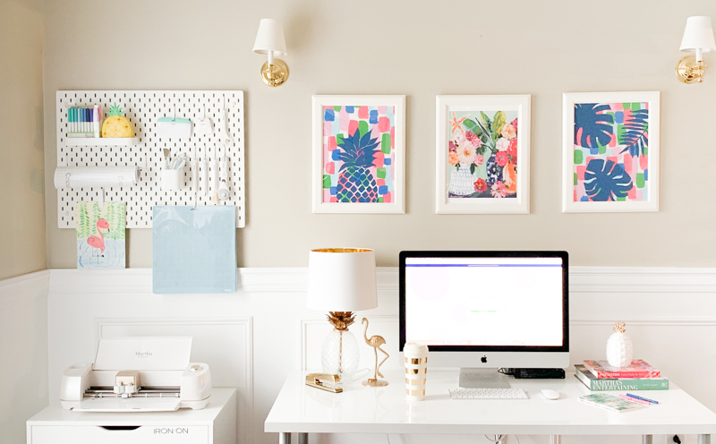 Craft Room Organization Ideas and the Pineapple Paper Co. Craft Room