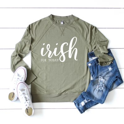 Free Irish for Today St. Patrick's Day SVG File