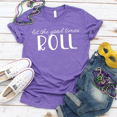 Free Mardi Gras SVG for DIY Mardi Gras Shirts