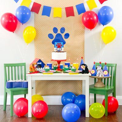 DIY Paw Patrol Birthday Party Ideas with Cricut