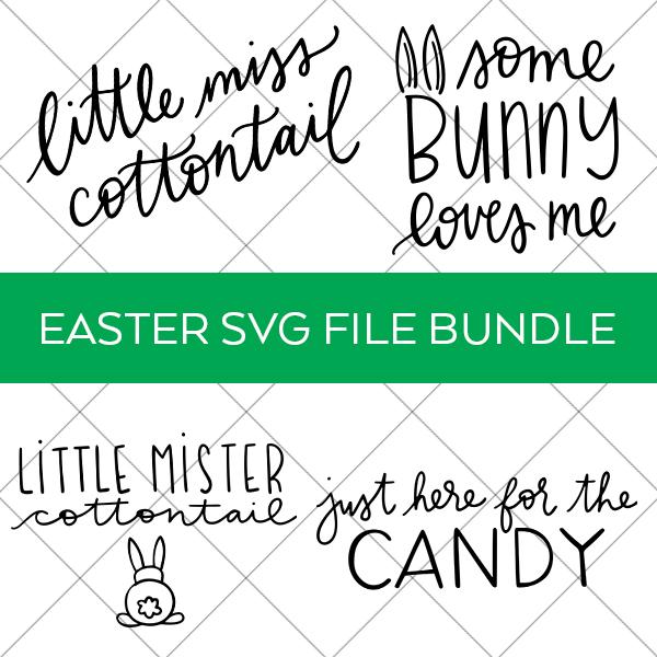 Easter Digital Cut File Bundle for Kids