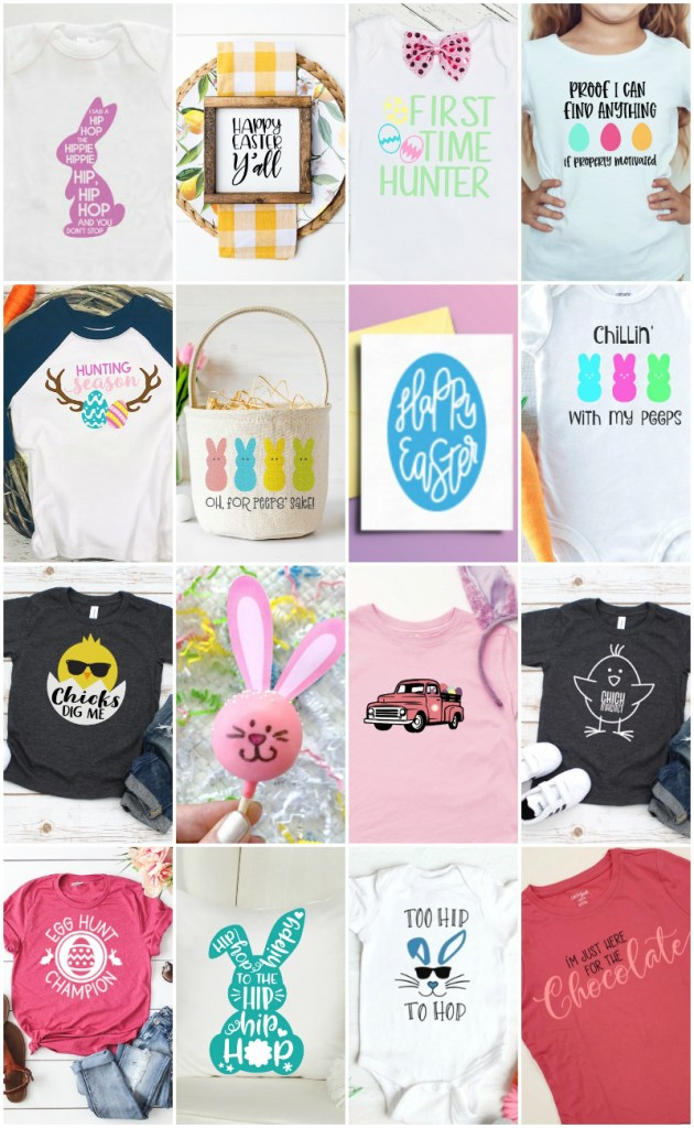 Easter Cricut Crafts with FREE Easter SVG Files