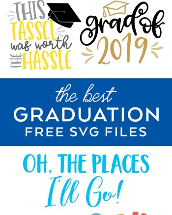 Free Graduation SVG Files for Cricut and Silhouette by Pineapple Paper Co.