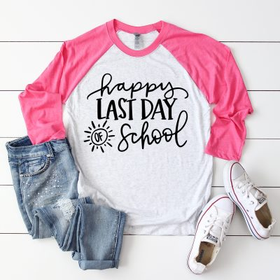 Happy Last Day of School SVG