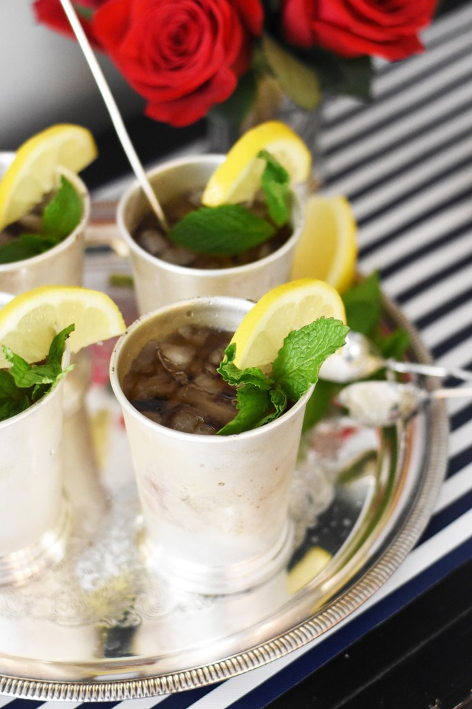 Sweet Tea Mint Juleps by Pineapple Paper Co.