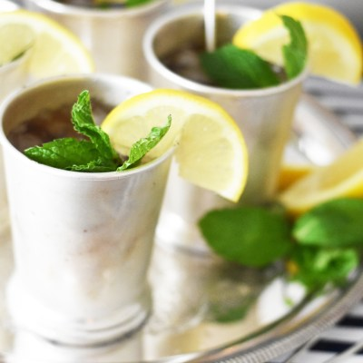 Mint Julep Sweet Tea Recipe