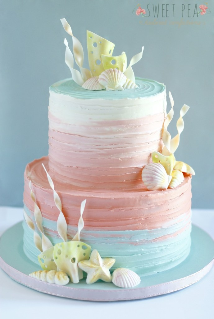 Admirable 10 Amazing Mermaid Birthday Cake Ideas Pineapple Paper Co Funny Birthday Cards Online Barepcheapnameinfo