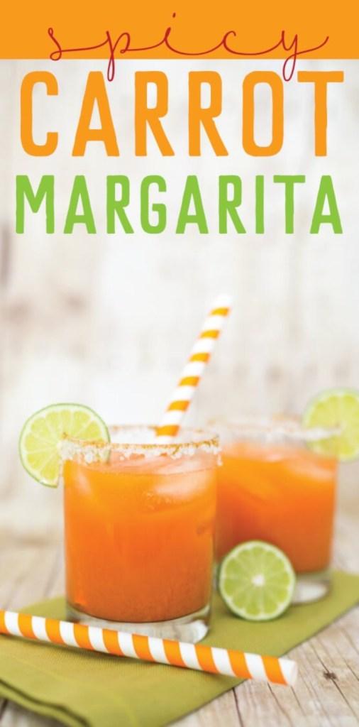 Zesty Carrot Margarita for Cinco de Mayo and Summer Parties