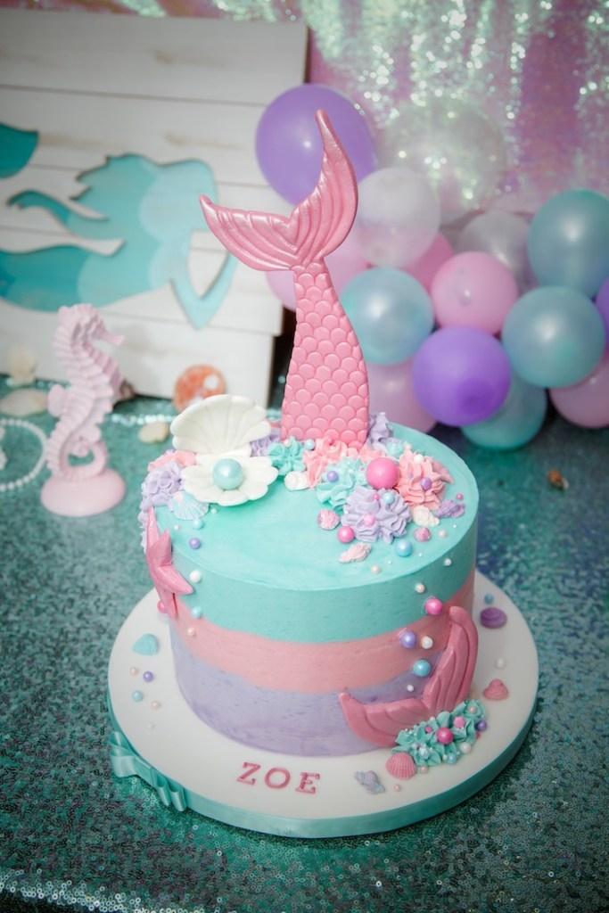 Fine 10 Amazing Mermaid Birthday Cake Ideas Pineapple Paper Co Funny Birthday Cards Online Fluifree Goldxyz